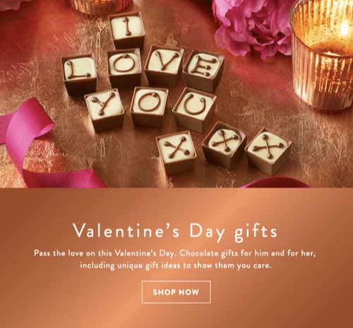 Treat your special someone to a personalised chocolate heart from Thornton's this Valentine's Day.